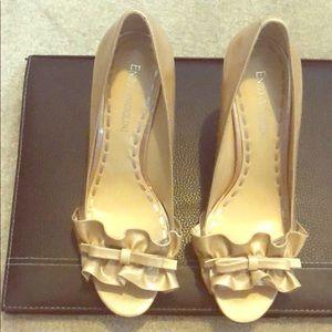 ENZO ANGIOLINI Peep-Toe beautiful patent leather